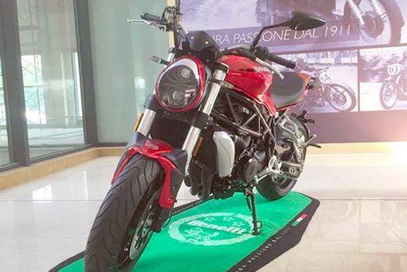 Benelli streetfighter 750GS 'nhai' moto Ducati Monster? - Anh 1