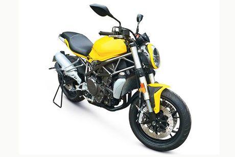Benelli streetfighter 750GS 'nhai' moto Ducati Monster? - Anh 4