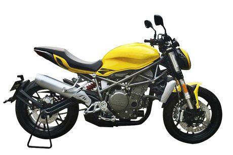 Benelli streetfighter 750GS 'nhai' moto Ducati Monster? - Anh 5