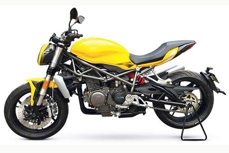 Benelli streetfighter 750GS 'nhai' moto Ducati Monster? - Anh 6