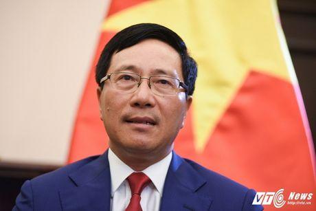 Phat bieu cua Pho Thu tuong Pham Binh Minh tai Hoi nghi Ngoai truong G20 - Anh 1