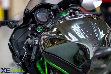 Sieu mo to Kawasaki H2 do cong suat manh nhat Viet Nam - Anh 2