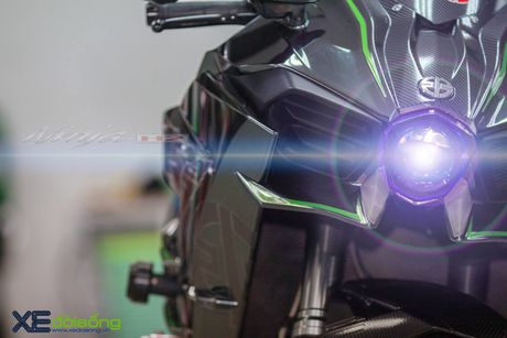 Sieu mo to Kawasaki H2 do cong suat manh nhat Viet Nam - Anh 5