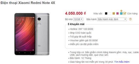 Vua ra mat, Xiaomi Redmi Note 4X da 'do bo' ve Viet Nam - Anh 2
