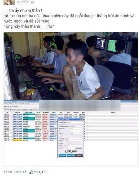Thanh nien Quang Ninh ngoi quan net 20 ngay lien khong tra tien va cai ket dang - Anh 5