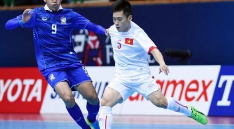 Viet Nam doi dau voi Thai Lan tai giai futsal Dong Nam A 2017 - Anh 1