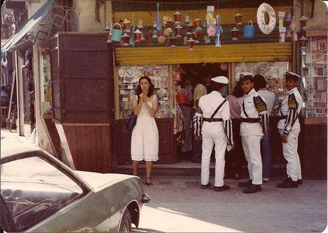 Hinh anh duong pho Alexandria, Ai Cap cuoi thap nien 1970 - Anh 8
