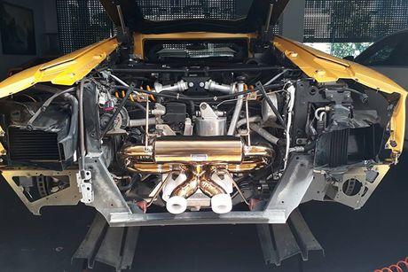 Lamborghini gia 25 ty do 'po khung' tai nha Cuong Do la - Anh 6