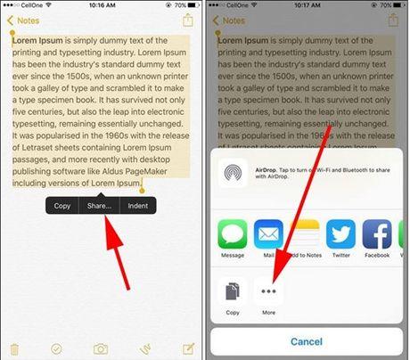 Hien thi noi dung Note tren Lock Screen cua iOS 10.3 - Anh 2