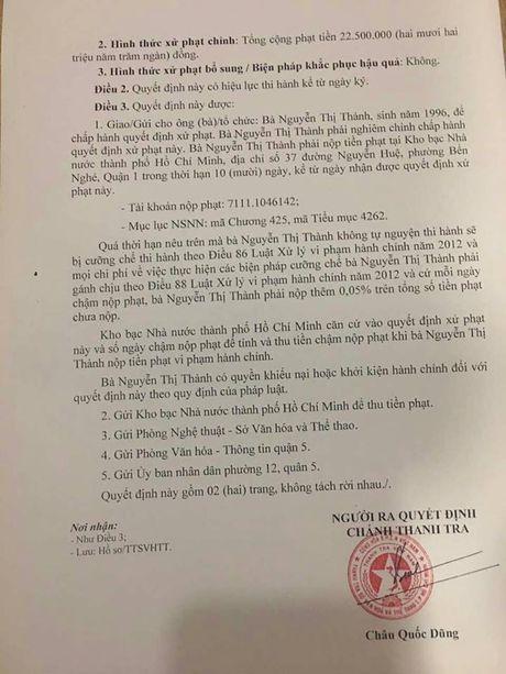 Nguyen Thi Thanh bi phat tien, khong bi cam dien - Anh 3