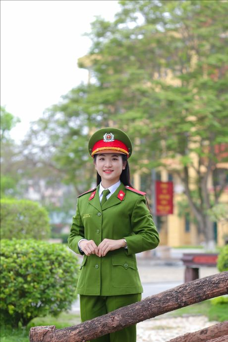 14 sinh vien noi bat nhat Cao dang Canh sat nhan dan I - Anh 3