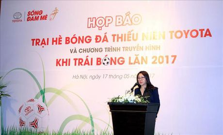 Toyota trao co hoi du dau Nhat Ban cho cau thu nhi Viet Nam - Anh 1