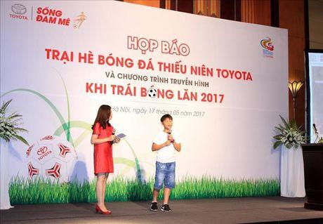 Toyota trao co hoi du dau Nhat Ban cho cau thu nhi Viet Nam - Anh 2