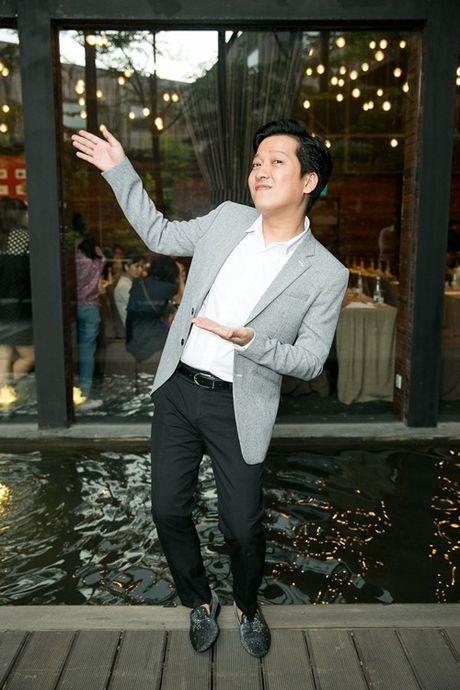 Truong Giang vui ve di su kien giua tin don sap cuoi vo - Anh 2