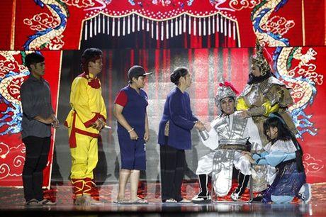 Phi Nhung mat do hoe trong dem chung ket show truyen hinh - Anh 11