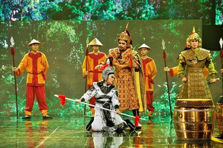 Phi Nhung mat do hoe trong dem chung ket show truyen hinh - Anh 13