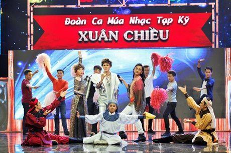 Phi Nhung mat do hoe trong dem chung ket show truyen hinh - Anh 3