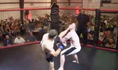 MMA: 4 giay da ha doi thu, Tu Hieu Dong chang la gi - Anh 1