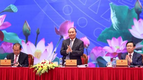 Thu tuong doi thoai voi 2.000 doanh nghiep - Anh 3