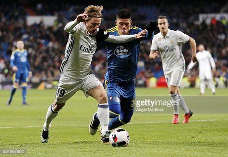 Celta Vigo - Real Madrid: Khong can dep, Real chi can tan nhan - Anh 5