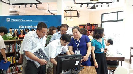 Khai truong Diem truy cap mo Thong tin KHCN quoc gia - Anh 4