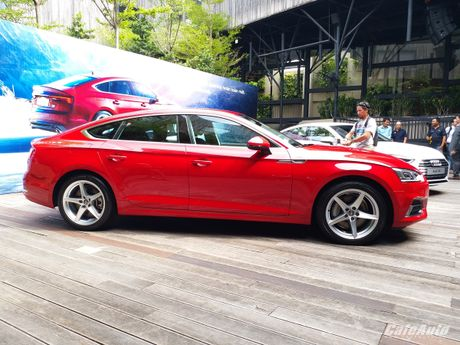 Audi A5 Sportback chinh thuc ra mat tai Viet Nam - Anh 10