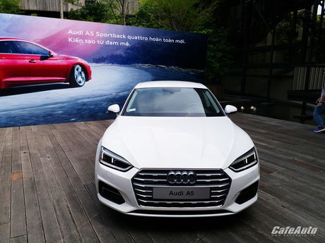 Audi A5 Sportback chinh thuc ra mat tai Viet Nam - Anh 13
