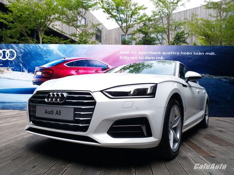 Audi A5 Sportback chinh thuc ra mat tai Viet Nam - Anh 14
