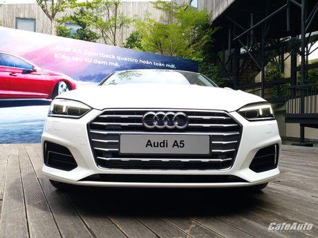 Audi A5 Sportback chinh thuc ra mat tai Viet Nam - Anh 15