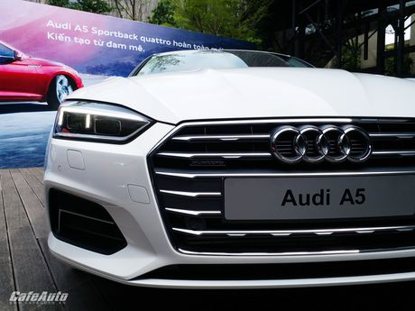 Audi A5 Sportback chinh thuc ra mat tai Viet Nam - Anh 16