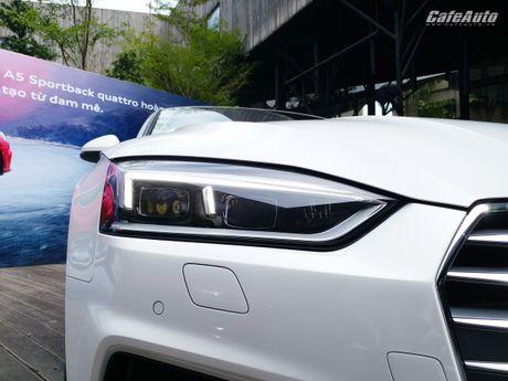 Audi A5 Sportback chinh thuc ra mat tai Viet Nam - Anh 17