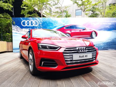 Audi A5 Sportback chinh thuc ra mat tai Viet Nam - Anh 7