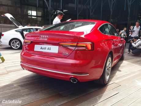 Audi A5 Sportback chinh thuc ra mat tai Viet Nam - Anh 9