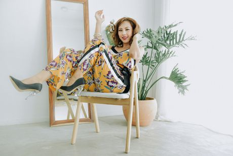 MC Do Phuong Thao chia se bi quyet can bang cuoc song sau khi sinh - Anh 2