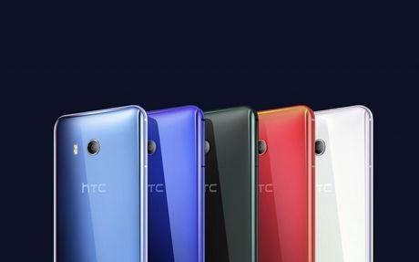 HTC U11 chinh thuc ra mat: Cong nghe bop vien - Anh 4