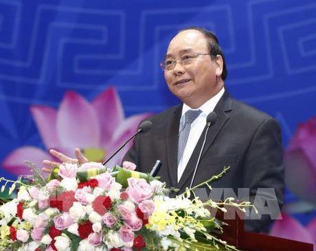 Thu tuong Nguyen Xuan Phuc gui Thu chuc mung Tan Thu tuong Phap - Anh 1