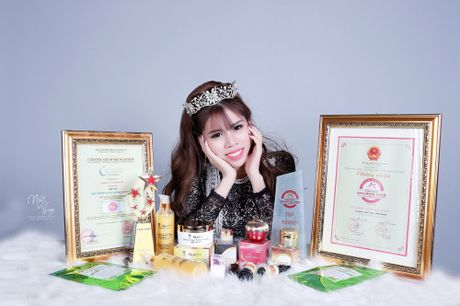 Doanh nhan Do Kim Anh - Nguoi lam nen thuong hieu my pham A Beauty - Anh 1