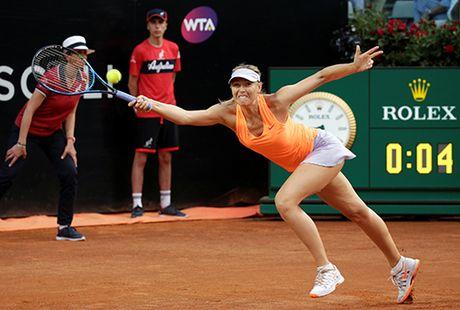 Sharapova bo cuoc giua chung o vong hai Rome Masters - Anh 1