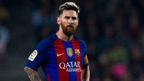 Messi chua voi ky hop dong voi Barca - Anh 1