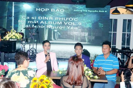 A quan Than Tuong Bolero Vo Dinh Phuoc 'chi dam' cho loat du an am nhac - Anh 5