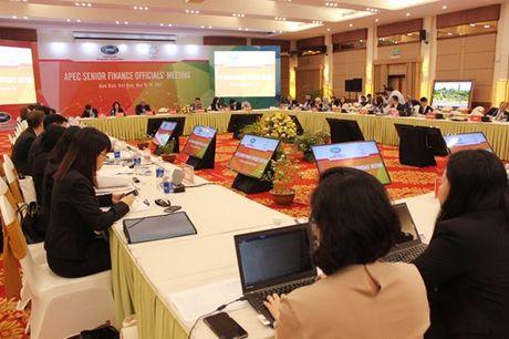 SFOM thao luan trien vong kinh te the gioi va chu de uu tien tai chinh nam APEC 2017 - Anh 1