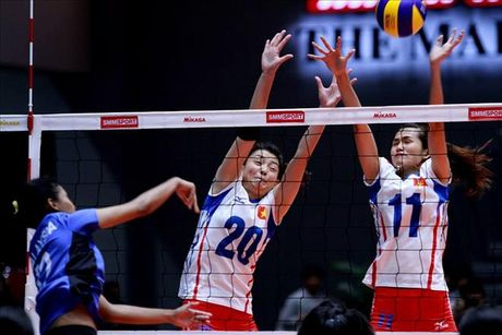 Thua Thai Lan, U23 Viet Nam tranh HCD giai bong chuyen chau A - Anh 1