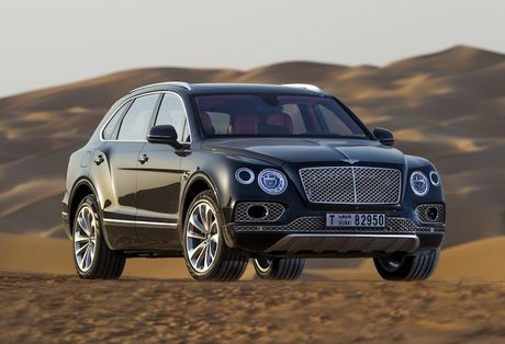 SUV sieu sang Bentley Bentayga ban 'dai bang' gia chuc ty - Anh 1