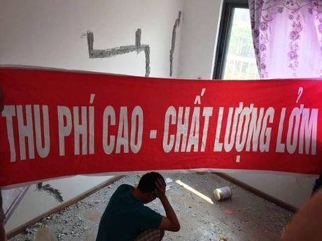 Chung cu Happy Star: Nha chua o da xuong cap! - Anh 1