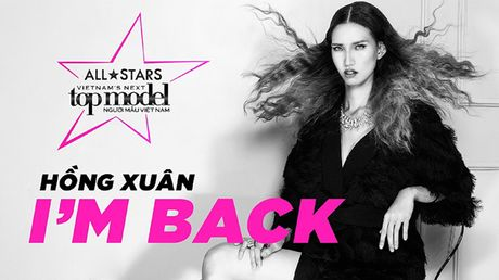 Nguoi mau 'cao nhat Viet Nam' tro lai thi Vietnam's Next Top Model - Anh 1