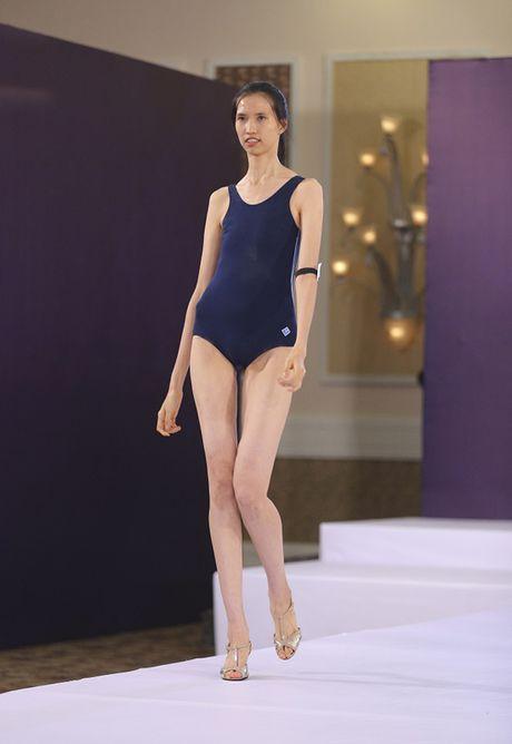 Nguoi mau 'cao nhat Viet Nam' tro lai thi Vietnam's Next Top Model - Anh 2