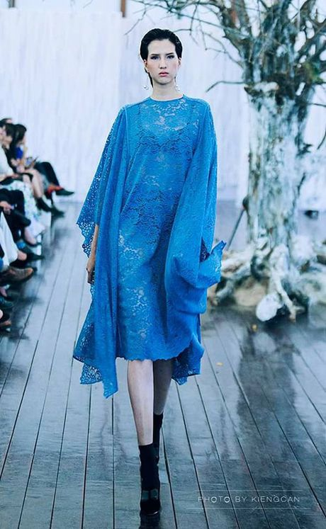 Nguoi mau 'cao nhat Viet Nam' tro lai thi Vietnam's Next Top Model - Anh 7