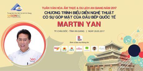 """Vua bep Martin Yan den An Giang """"khuay dong"""" hoat dong van hoa am thuc - Anh 1"""