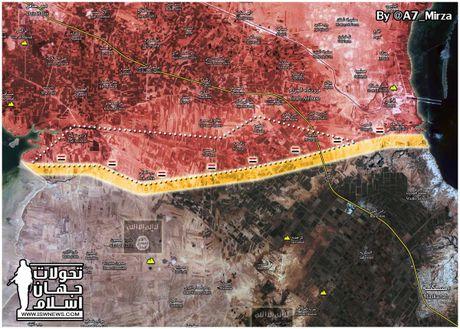 'Ho Syria' nghien nat phien quan, chiem 13 cu dia IS tai dong Aleppo - Anh 1