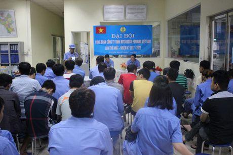 Cong doan Cong ty TNHH Mitsuboshi Forming Viet Nam: Phat huy vai tro cau noi - Anh 1